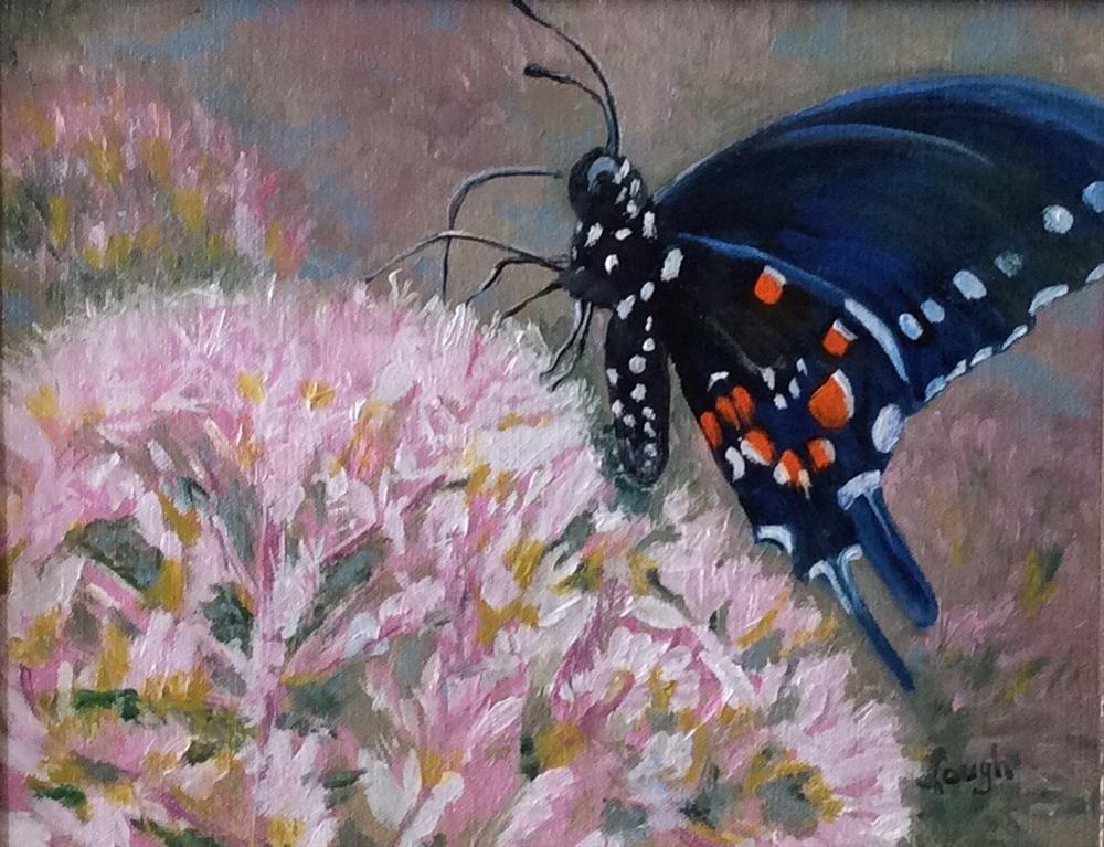 """Brian's Butterfly"" original fine art by Charlotte Lough"