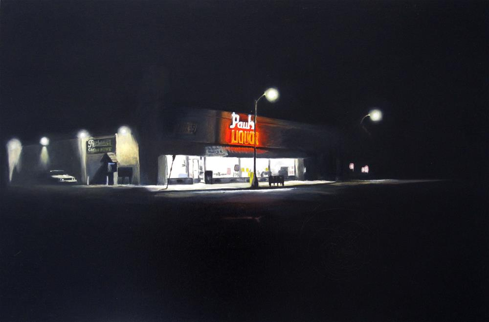 """Paul's Liquor"" original fine art by Dan Graziano"