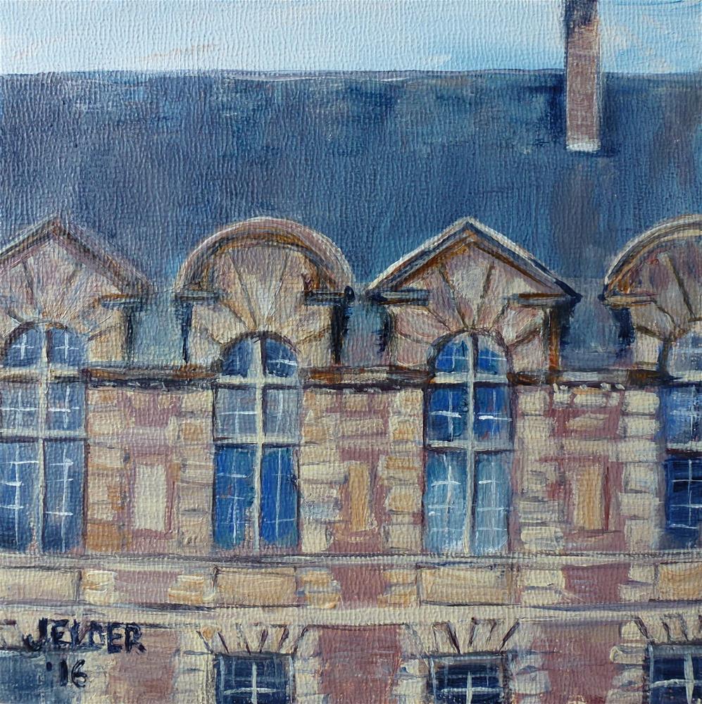 """Paris No. 103"" original fine art by Judith Elder"