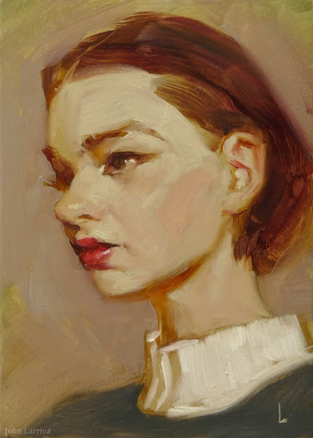 """Prim"" original fine art by John Larriva"