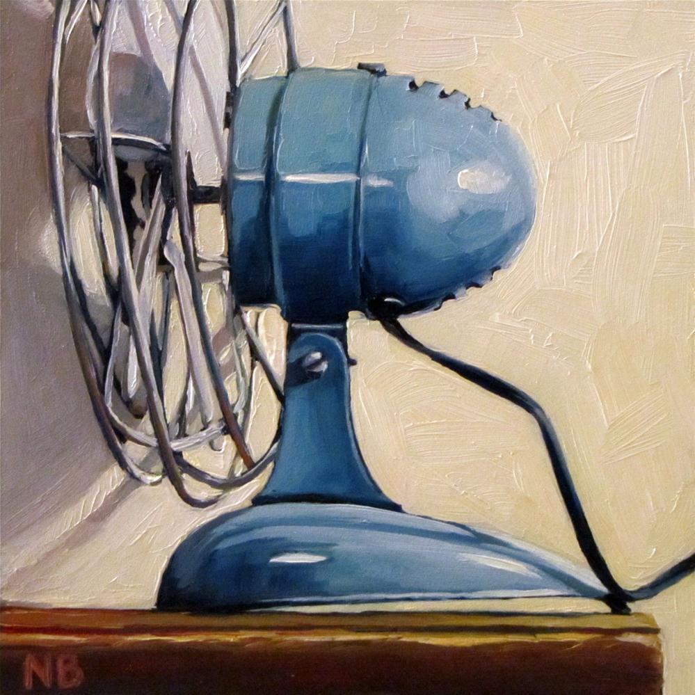 """""""My Smallest Fan"""" original fine art by Nora Bergman"""