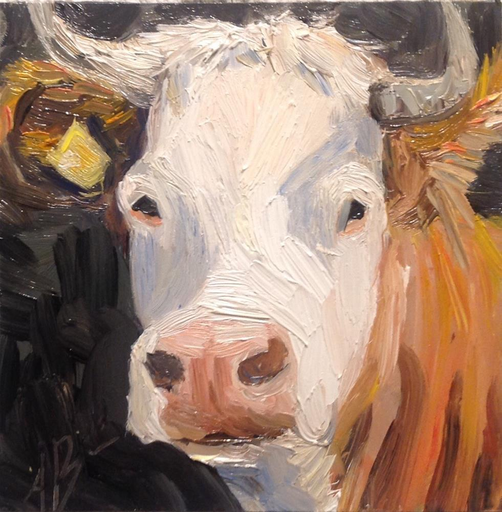"""Got milk?"" original fine art by Annette Balesteri"