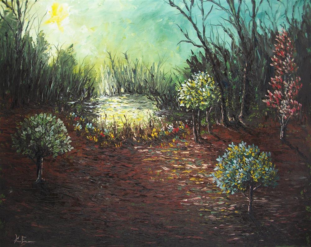 """Secret Cove"" original fine art by Ken Fraser"