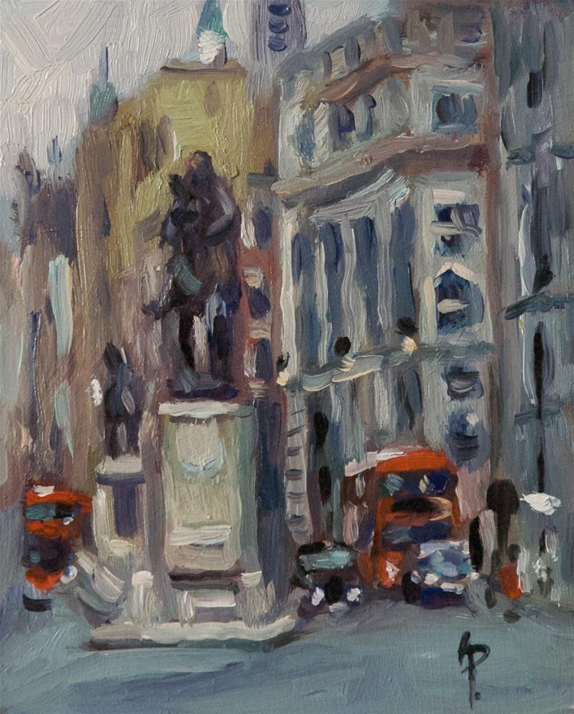 """'Whitehall'"" original fine art by Andre Pallat"