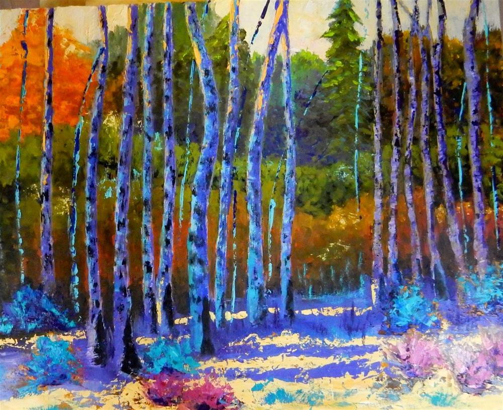 """""""Late Summer In Durango"""" original fine art by Phyllis Davis"""