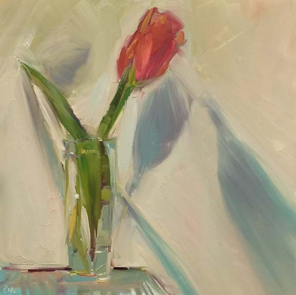 """A Rose by any Other Name is a Tulip"" original fine art by Patti McNutt"