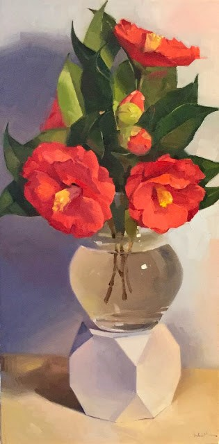 """Fleeting Blooms"" original fine art by Sarah Sedwick"