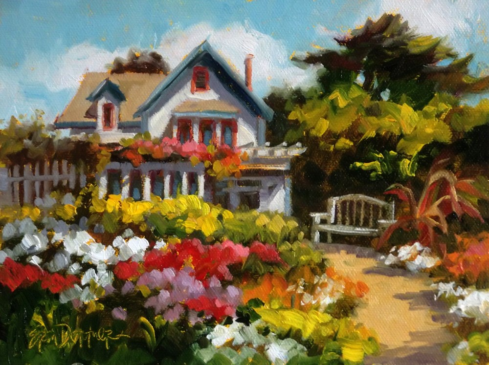 """Alegria Inn"" original fine art by Erin Dertner"