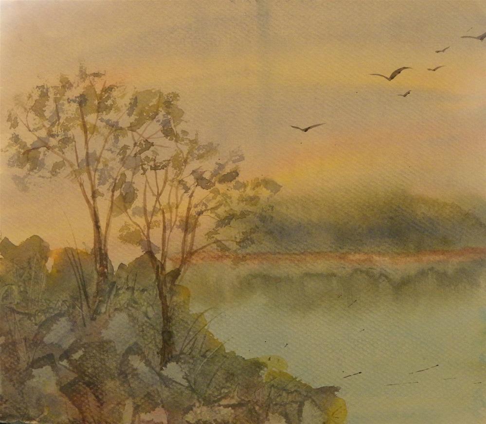 """soaring"" original fine art by cheryl buhrman"