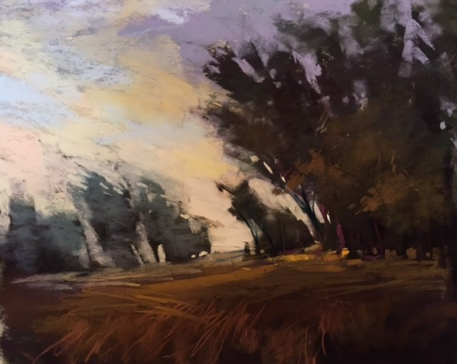 """Workshop Report: The Mystery and Magic of the Underpainting on Uart Paper"" original fine art by Karen Margulis"
