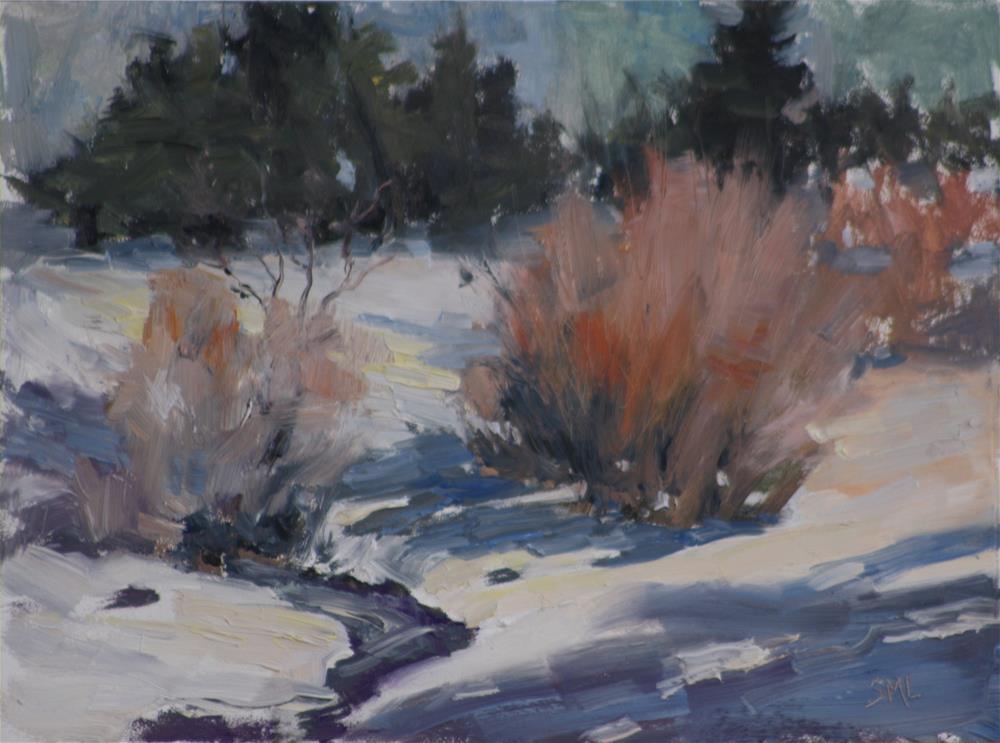 """Nelson Gulch"" original fine art by Sheila Marie"
