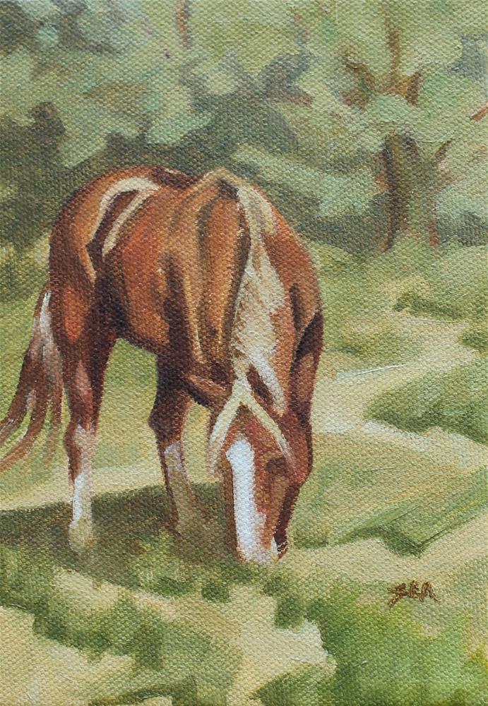 """Treeline"" original fine art by Susan Ashmore"