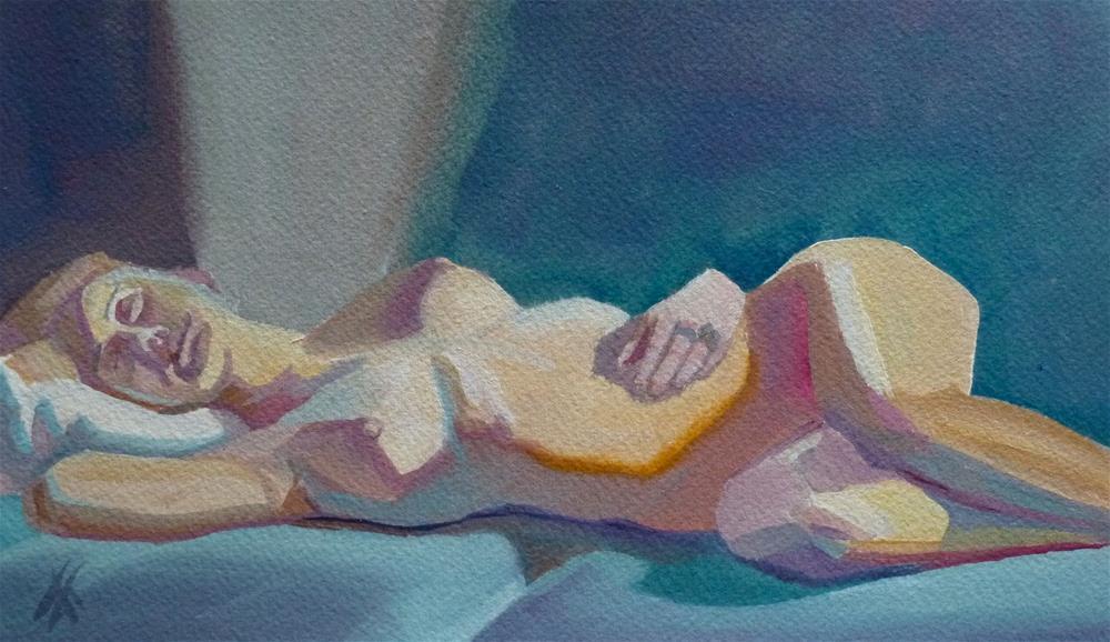 """""""Aurora"""" original fine art by Mark Allison"""
