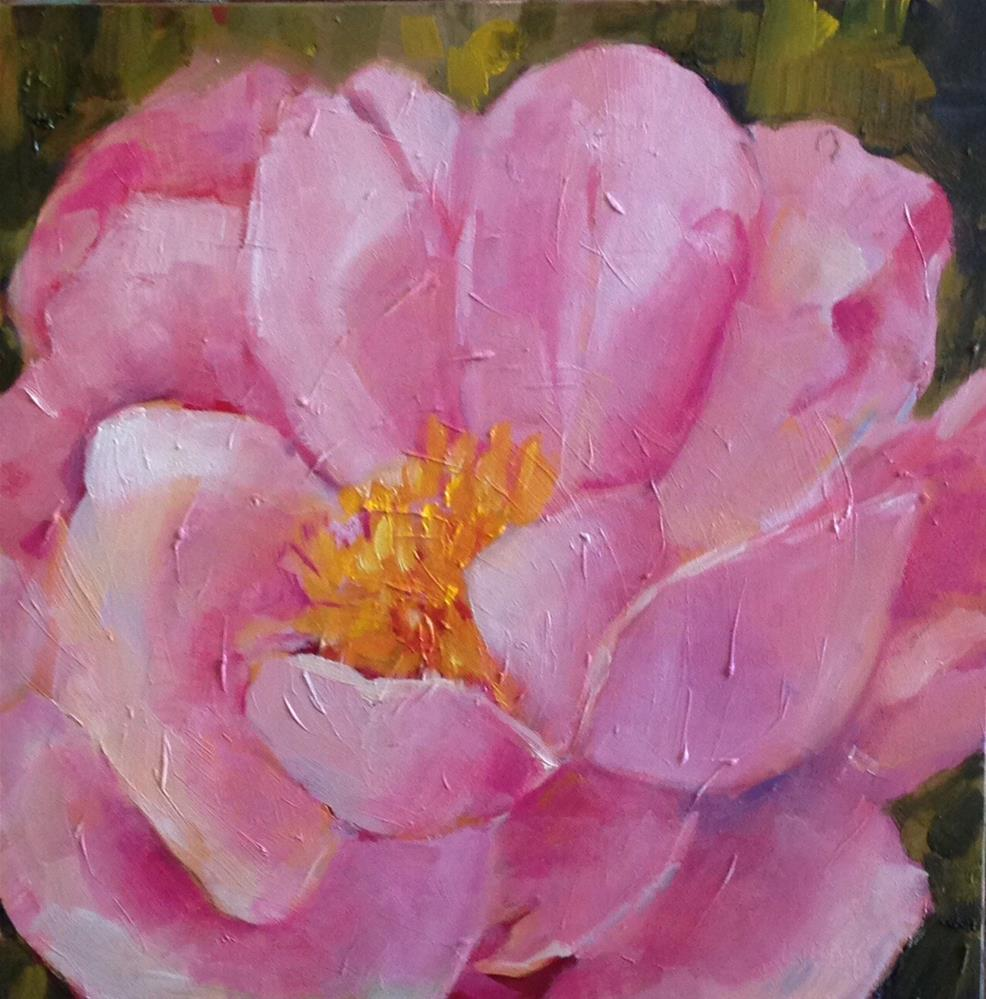 """Today's Rose"" original fine art by Libby Anderson"
