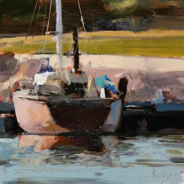 """Veracruz Holding"" original fine art by Randall Cogburn"