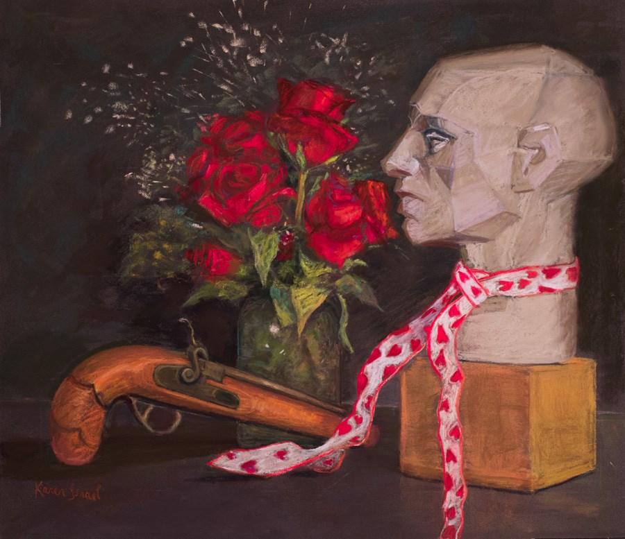 """Rogue's Gallery"" original fine art by karen israel"