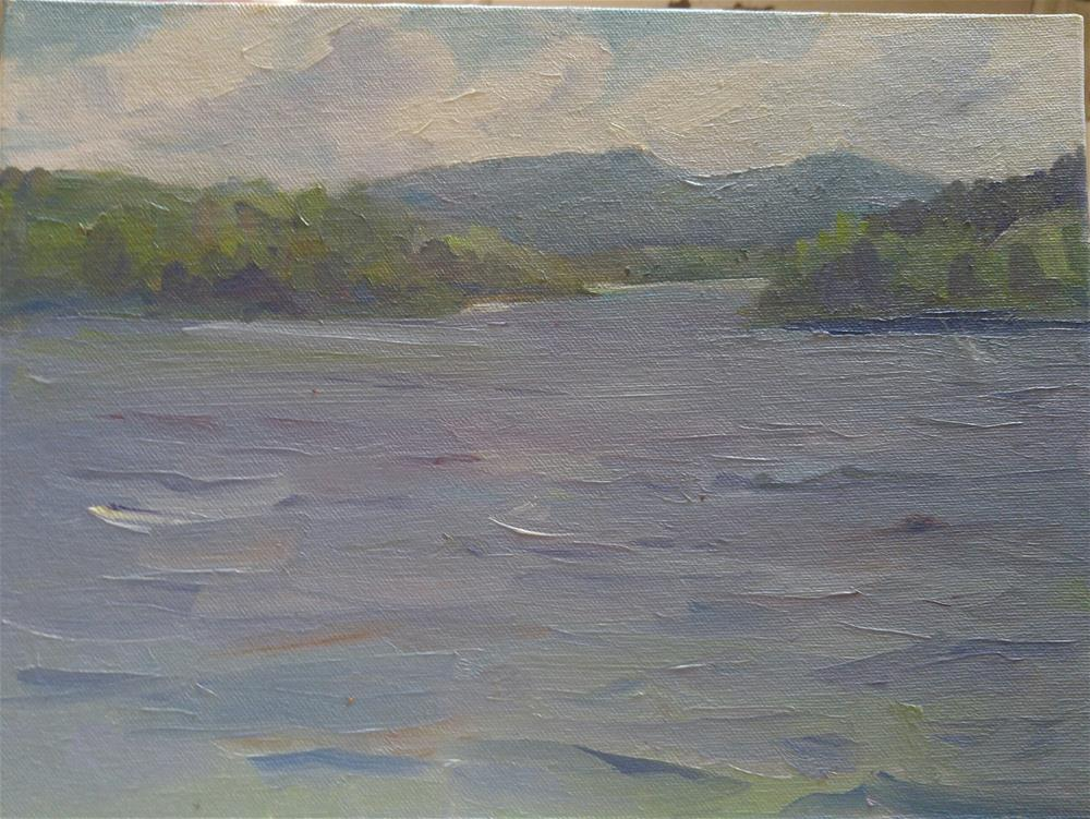 """Saranac Daze"" original fine art by angela scully"
