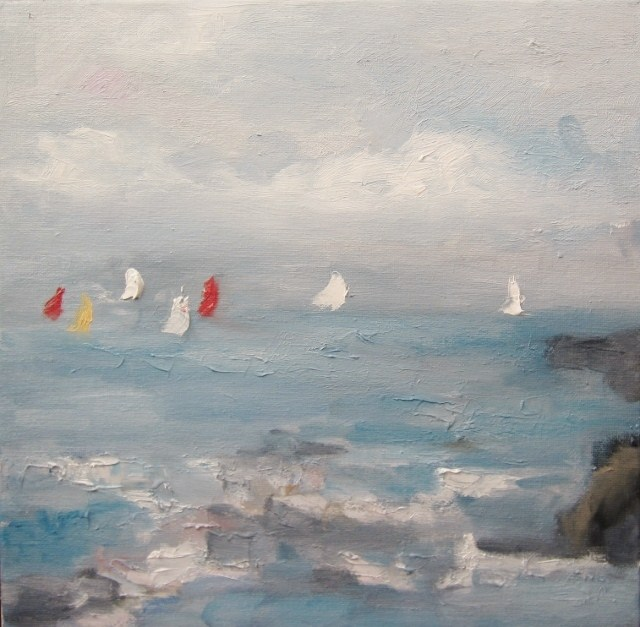 """Regatta"" original fine art by Astrid Buchhammer"