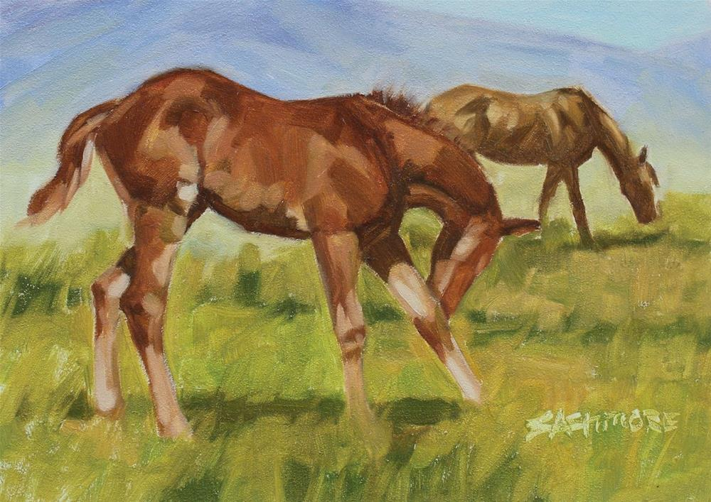 """Mothers Day"" original fine art by Susan Ashmore"