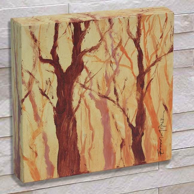 """""""Bosque 6"""" original fine art by Emilio López"""