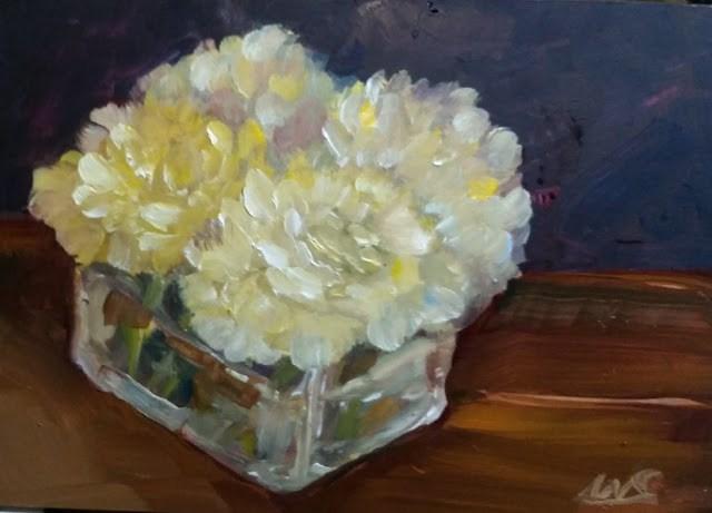 """Carnations"" original fine art by Wendy Starita"