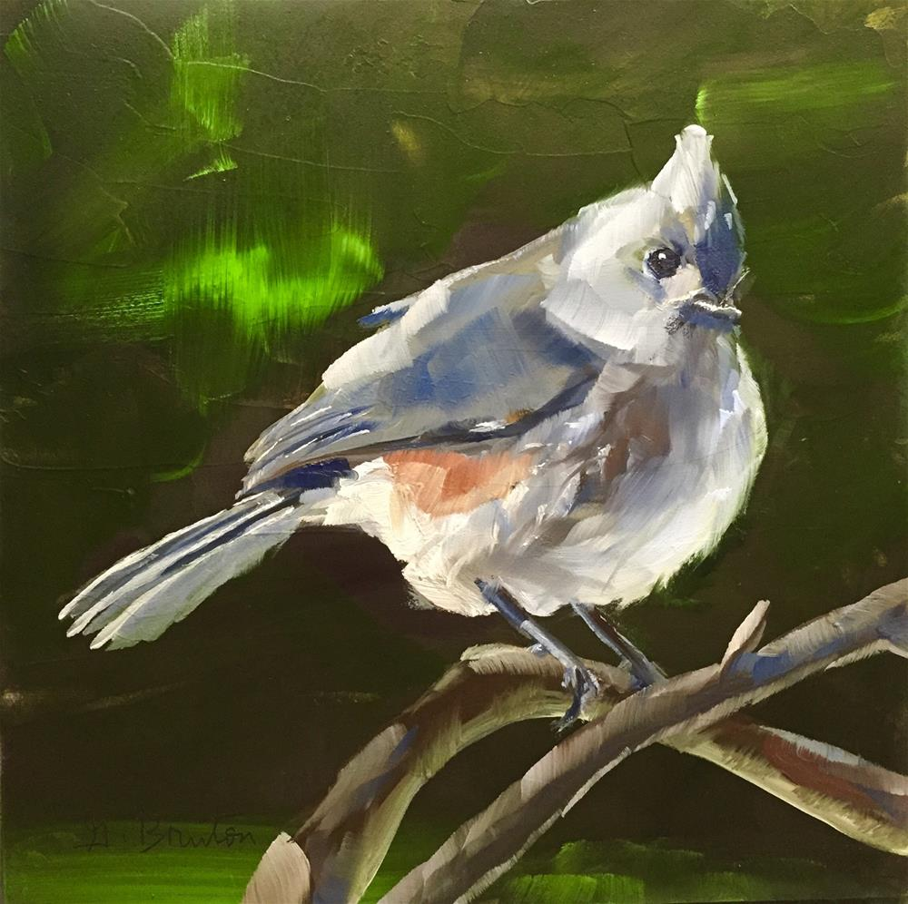 """Perched"" original fine art by Gary Bruton"