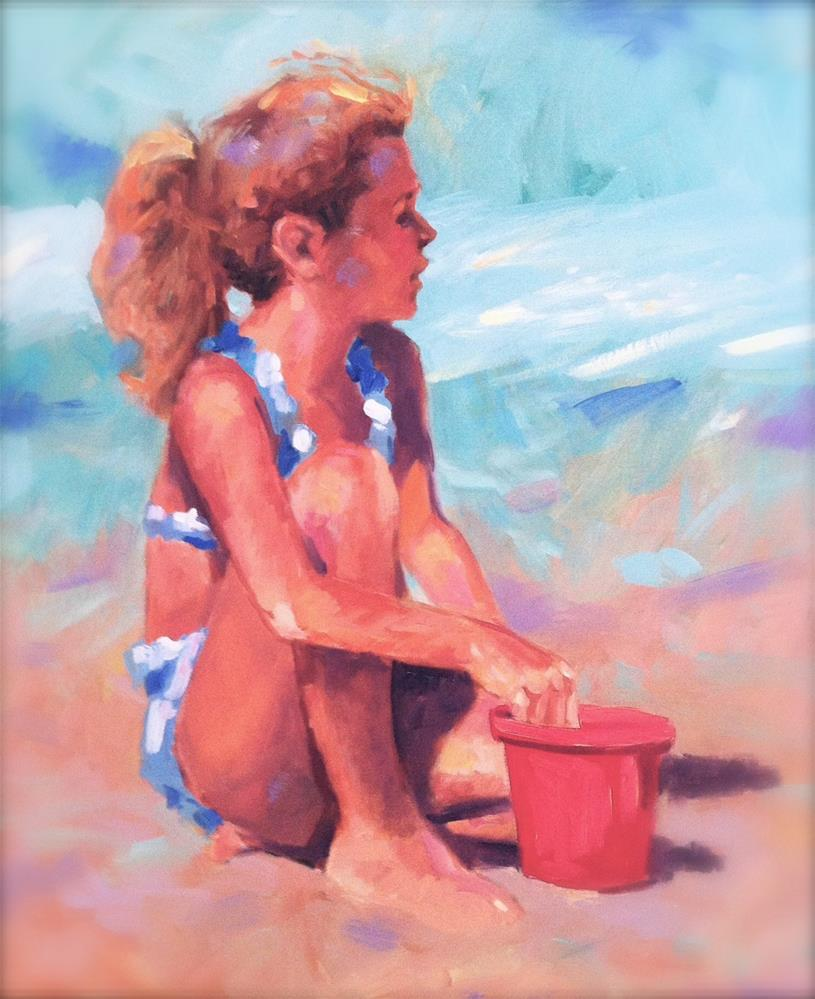 """sunburn"" original fine art by Jini James"