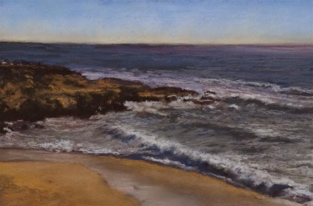 """""""California Dreaming"""" original fine art by Christina Karras"""