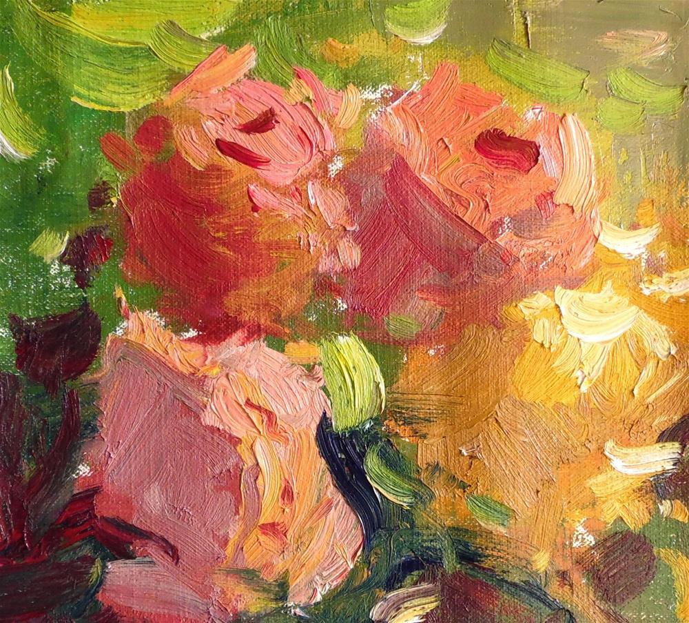 """Floral Foursome"" original fine art by Michael Clark"