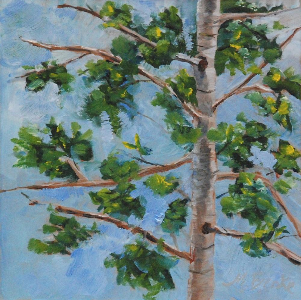 """Branching Out"" original fine art by Mary Benke"