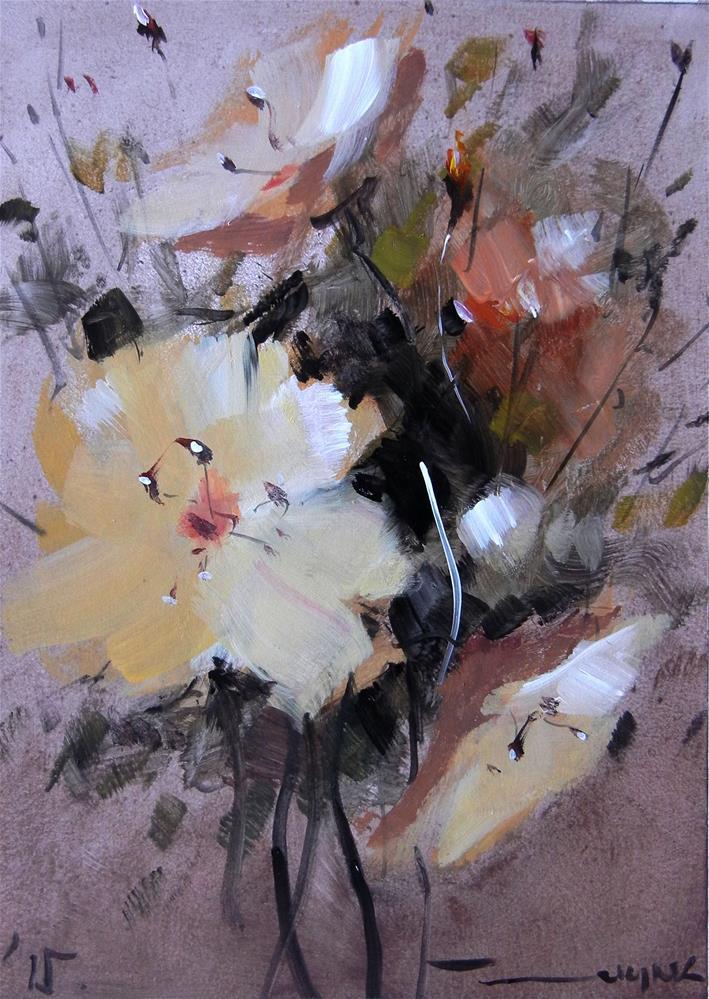 """Flowers"" original fine art by Dragan Culjak"