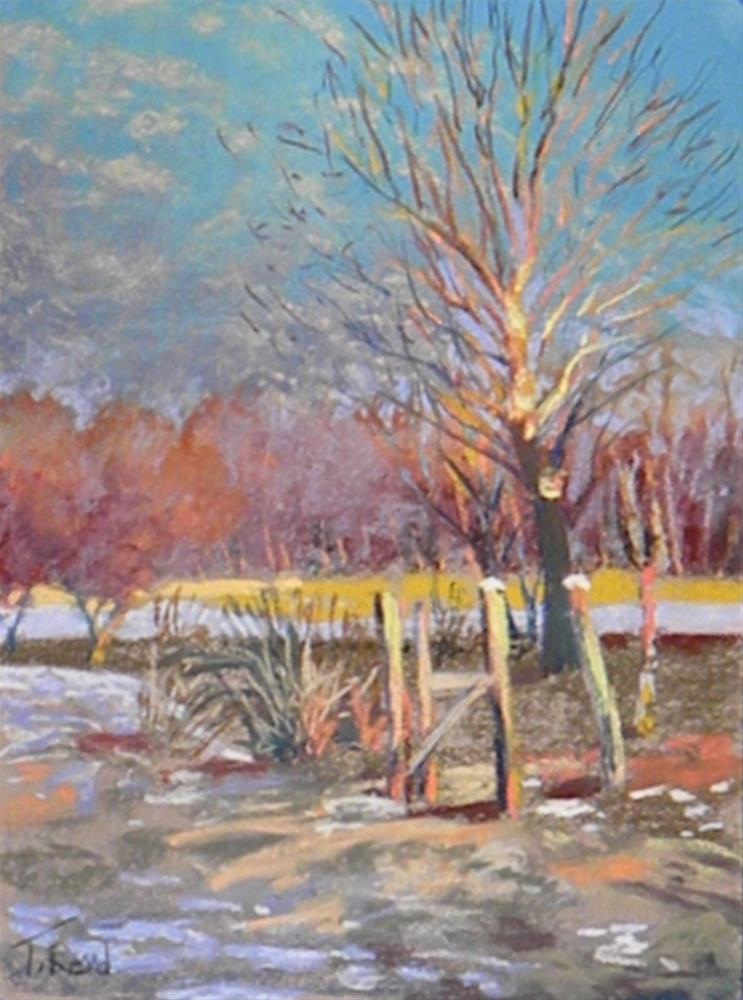 """Spring thaw"" original fine art by Toby Reid"