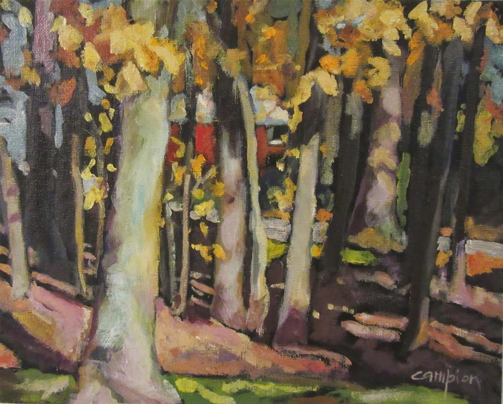 """497 Drawn to the Light"" original fine art by Diane Campion"