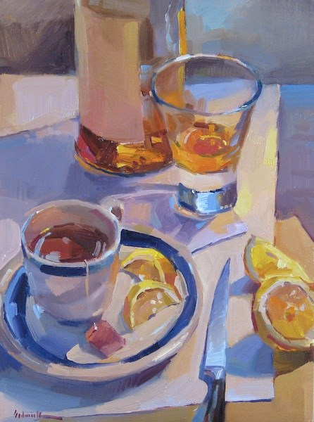 """Hot Toddy"" original fine art by Sarah Sedwick"