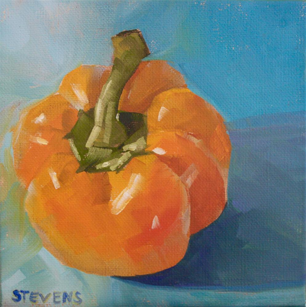 """Bell Pepper"" original fine art by Jamie Stevens"