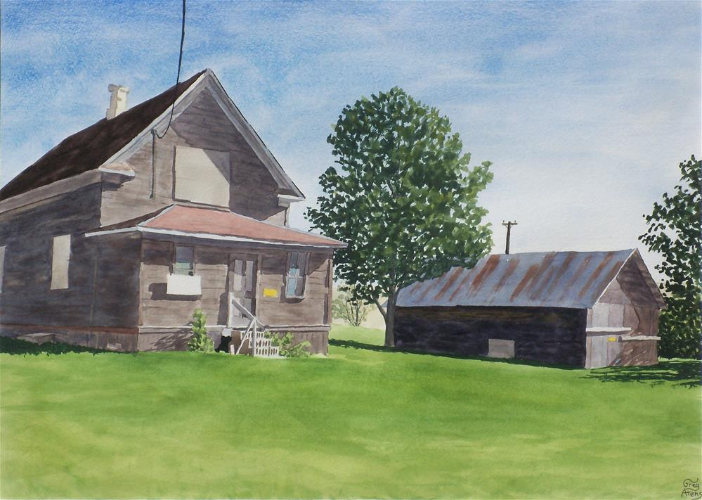 """Isodore House"" original fine art by Greg Arens"