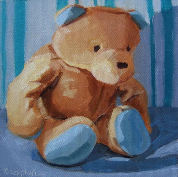 """Baby's Bear"" original fine art by Robin Rosenthal"