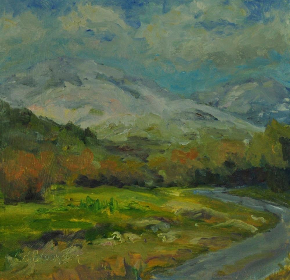 """Winter's Last Stand"" original fine art by Catherine Crookston"