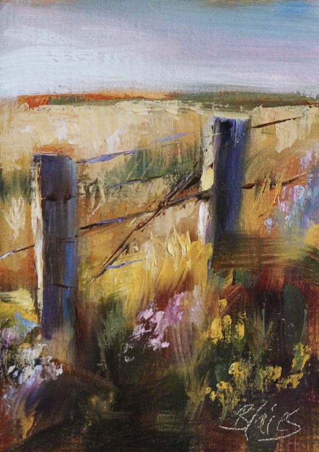 """Peaceful Pasture"" original fine art by Pamela Blaies"