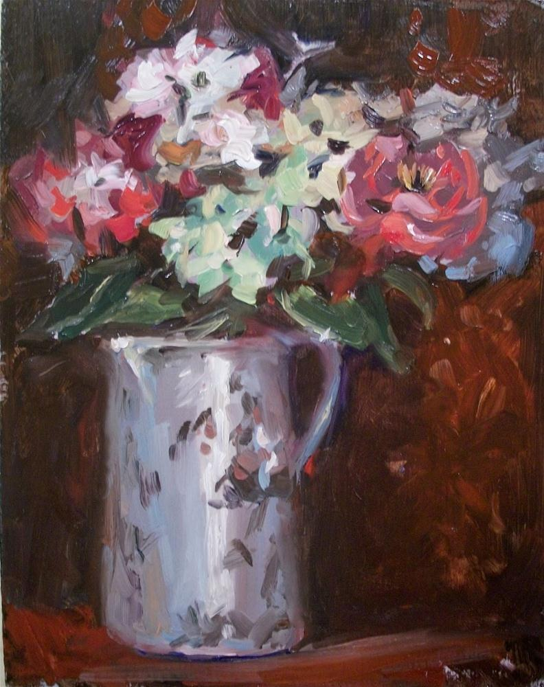 """Antique Bouquet"" original fine art by Doug Carter"