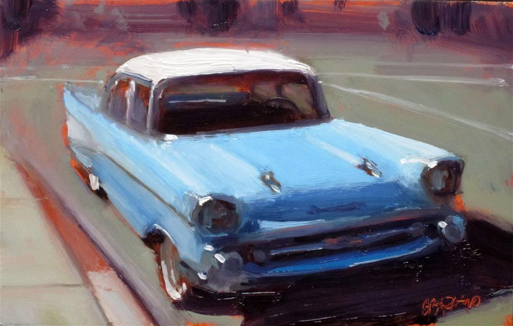 """Bel Air"" original fine art by Dan Graziano"