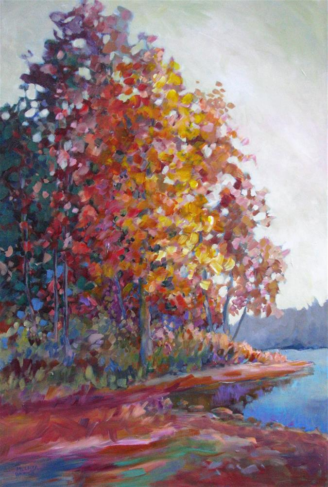 """Autumn Color Symphony"" original fine art by Melissa Gannon"