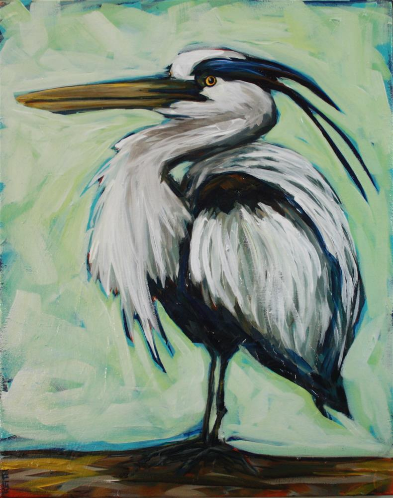 """Herman"" original fine art by Kandice Keith"