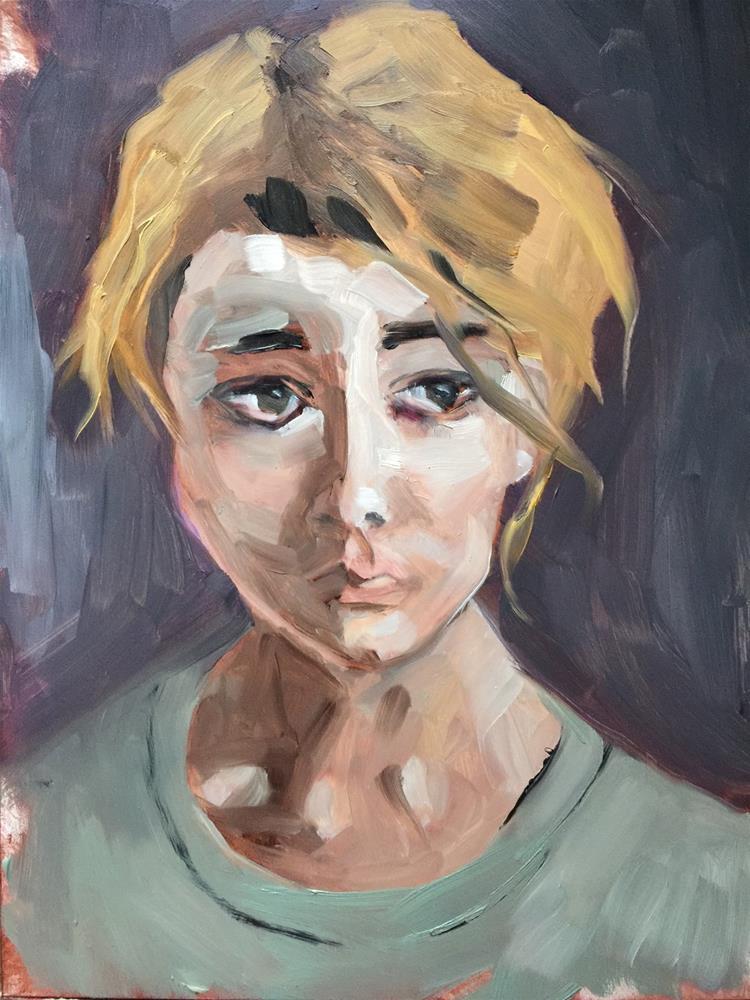"""93 Awakening"" original fine art by Jenny Doh"