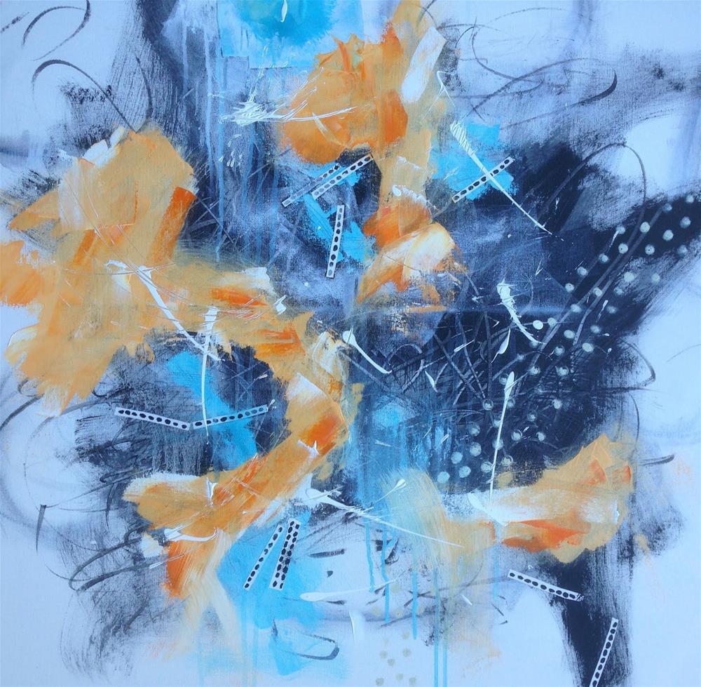 """Like Air"" original fine art by Dotty  Seiter"