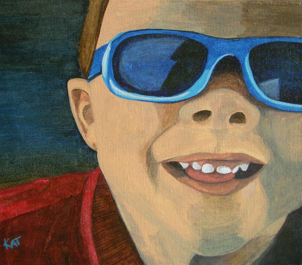 """""""Michael"""" original fine art by Kathleen Carrier"""