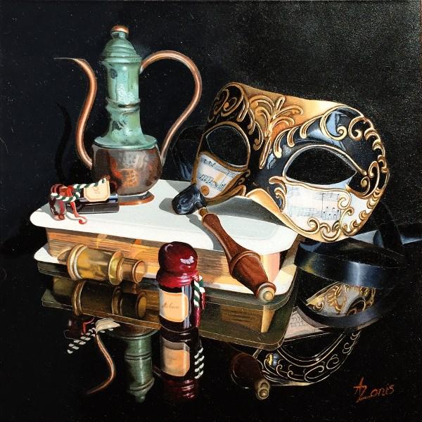 """Colombina"" original fine art by Alex Zonis"