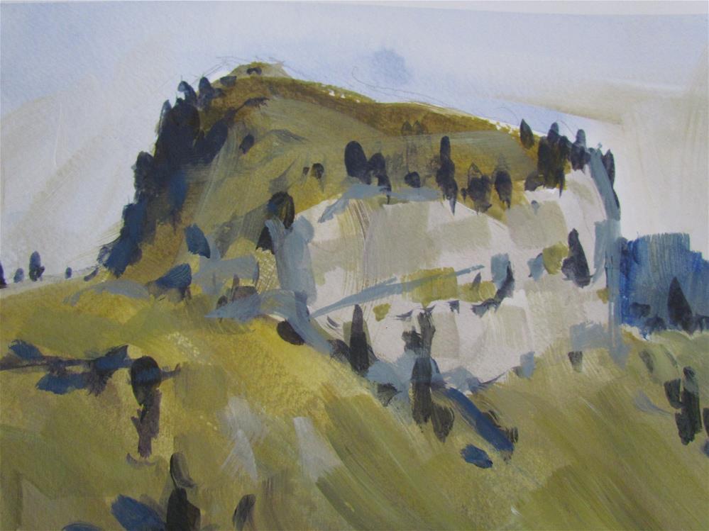 """""""sommet"""" original fine art by gilles Poulizac"""