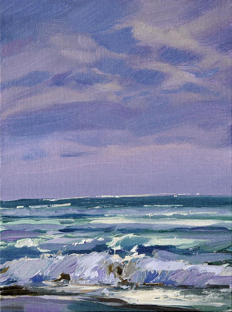 """ocean_1"" original fine art by Beata Musial-Tomaszewska"