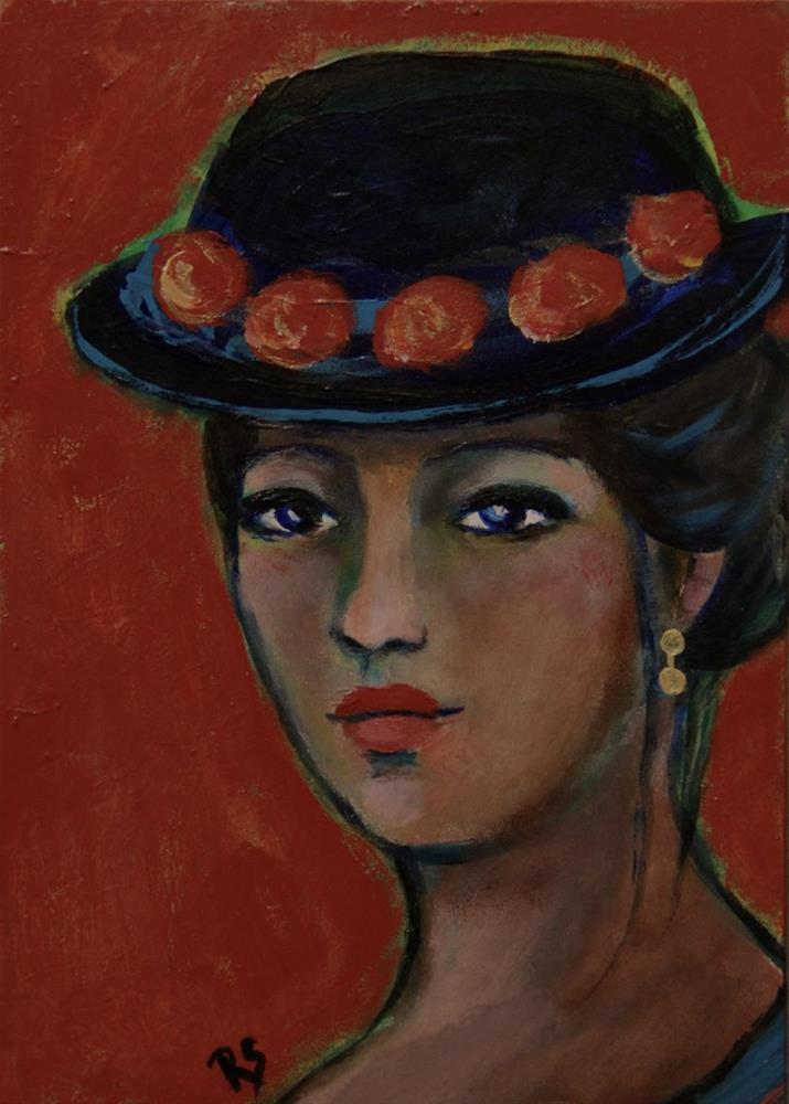 """Sabine"" original fine art by Roberta Schmidt"